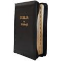 Biblia cu Concordanta si Explicatii de lux, auriu, cu index