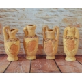 Set 4 Vase romane, Model 1