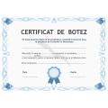 Certificat Botez, Model2