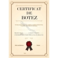 Certificat botez, Model3