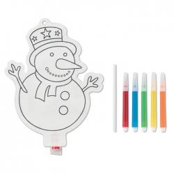 Balon fulg de zăpadă pentru colorat