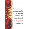 Felicitare deosebita A6, mesaj: Credinta, Nadejdea, Dragostea...