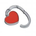 Suport metalic în formă de inimă, pentru poseta