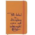 Notebook A6, orange, Pot totul in Hristos