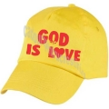 Sapca galbena God is love