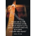 Stickere crestine Ioan 3.16  Fiindcă atât de mult a iubit Dumnezeu lumea...