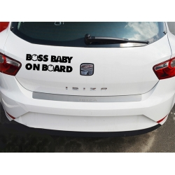 Sticker auto Boss baby on board